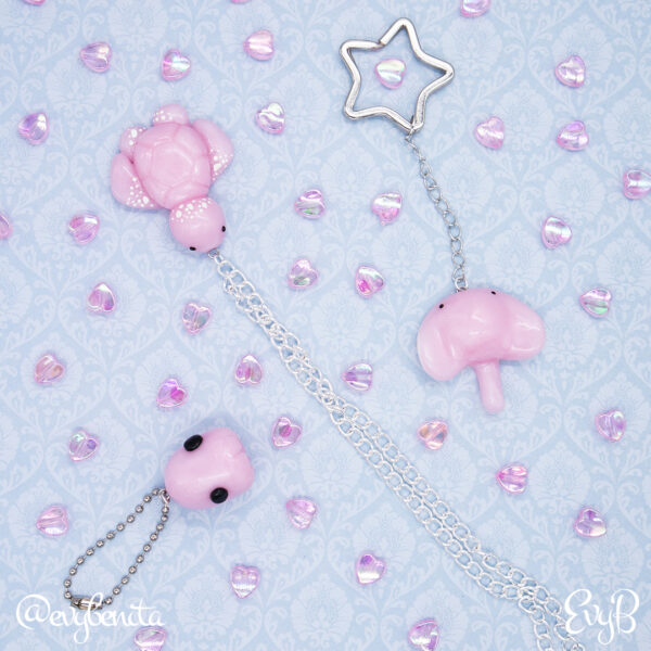 Kawaii Sea Creature Charms by EvyB