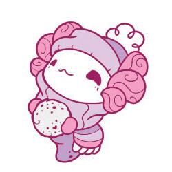 Snowball Lottie (rose gold)