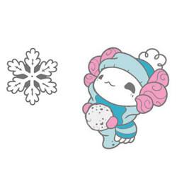 Lottie Snowball & Snowflake Set (silver)