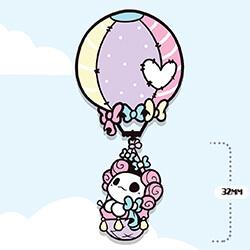 Lottie Hot Air Balloon