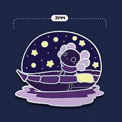 Luna's Starry Night