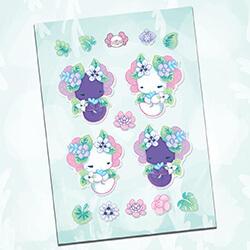 Rainforest Sticker Sheet