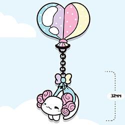 Lottie Heart Balloon