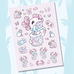 Cookie Jar Sticker Sheet