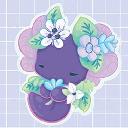 Rainforest Luna Sticker