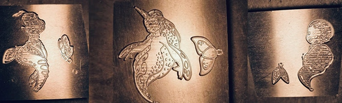 Mermaid Mold Photos   Mermaids of the Earth Enamel Pins