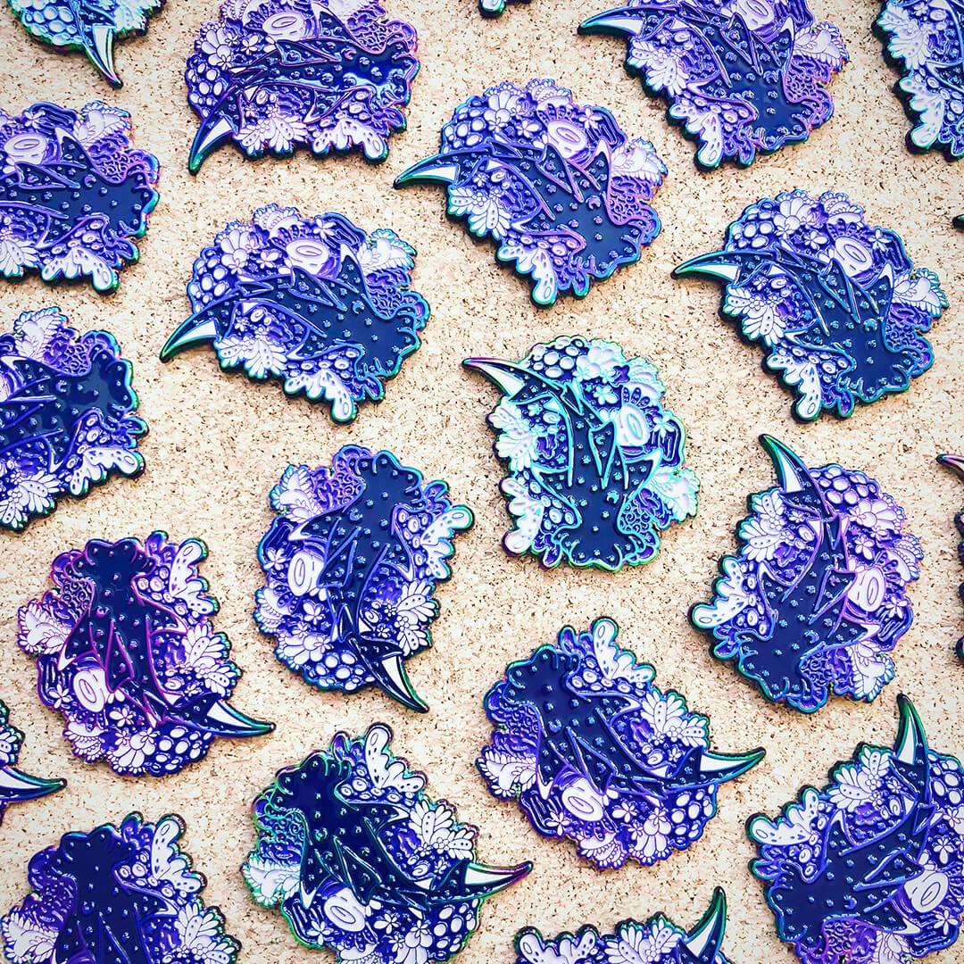 Cosmic Sea: Grading Enamel Pins