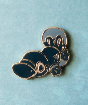 Cute Australian platypus hard enamel pin by Evy Benita