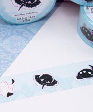 Cute stingray washi tape by Evy Benita