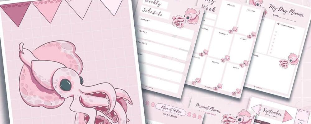 Printable Planner Kits