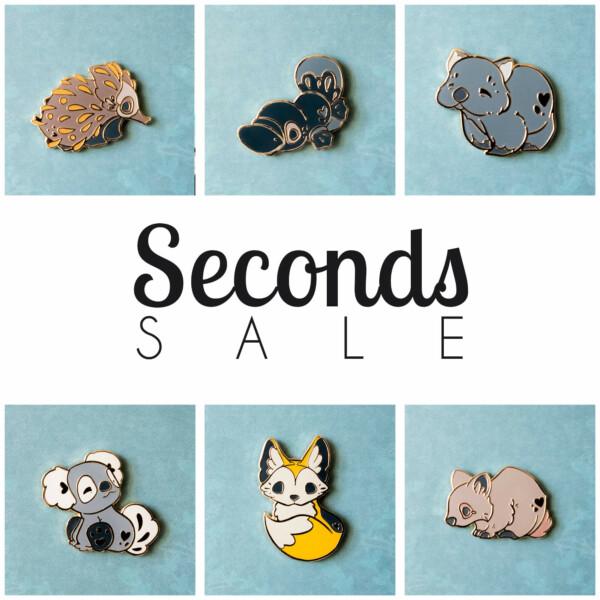 Enamel pin seconds sale