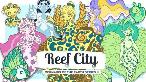 Mermaids of the Earth Series 2 Reef City by Evy Benita