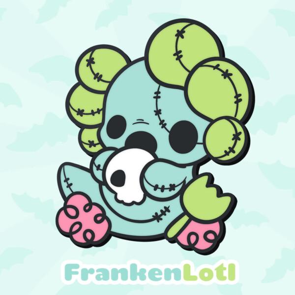 FrankenLotl: a mix of Frankenstein's monster and a Lotl