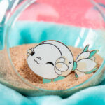 Floral Fish Enamel Pin by Evy Benita